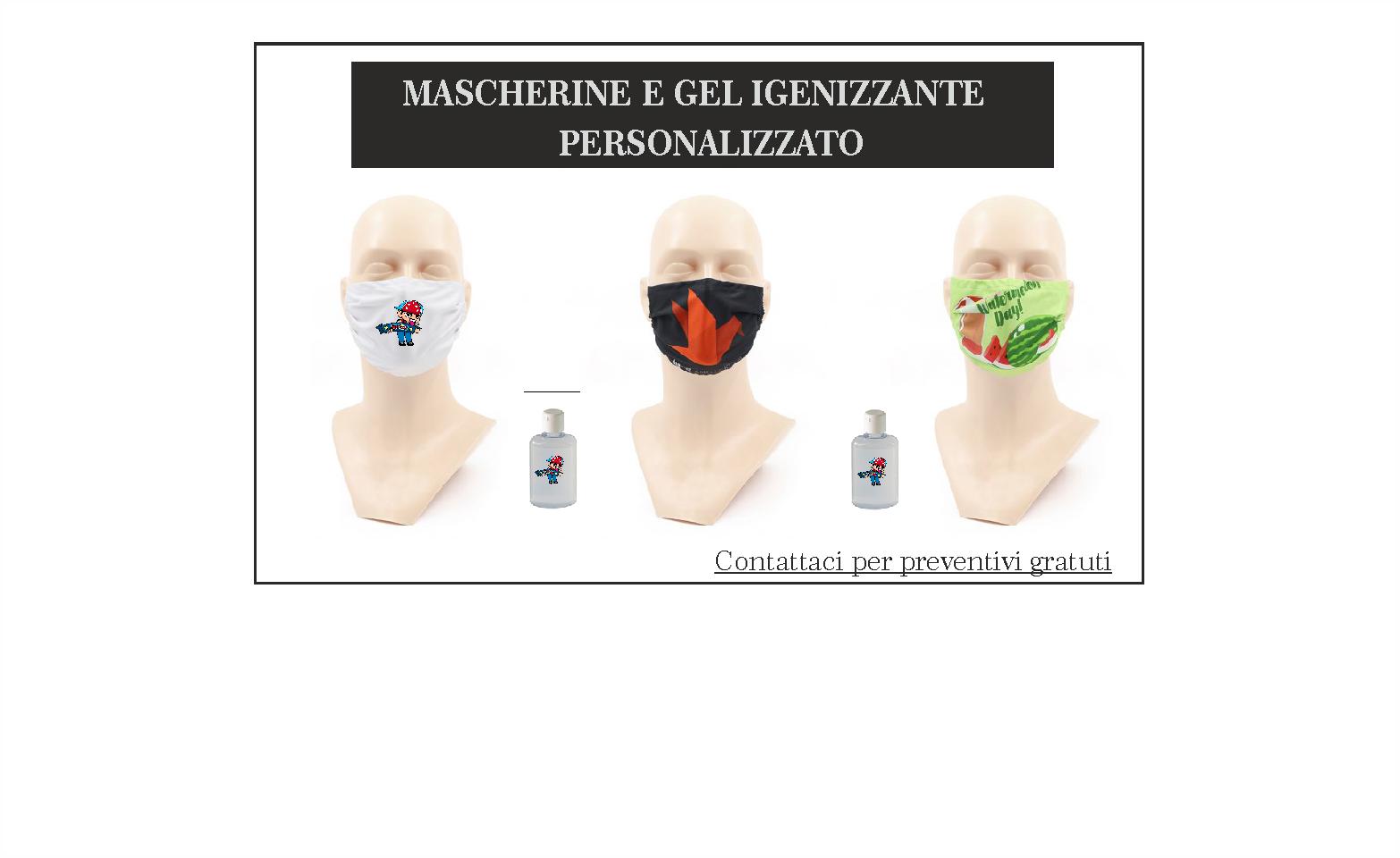Mascherine personalizzate