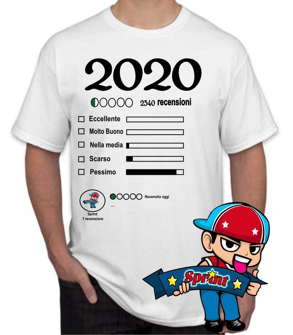 Il 2020 in una t-shirt!!